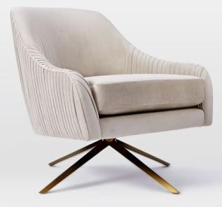 velvet chair 1