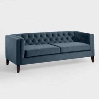 velvet sofa 2